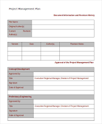 project management free templates project management document templates project management template 10