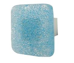 square glass cabinet knobs. Cristallo Square Glass Cabinet Knob - Light Blue GA440LB Knobs A