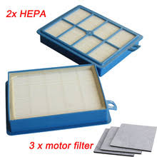 electrolux vacuum parts. 2x h12 h13 hepa filter + 3pcs motor filters replacements for philips electrolux vacuum cleaner parts high quality e