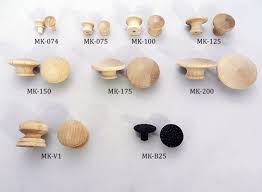 we stock a large selection of wood cabinet and drawer knobs in birch maple oak pine and more
