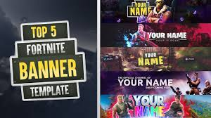 Top 5 Fortnite Banner Template 2018 Free Download Photoshop Cc