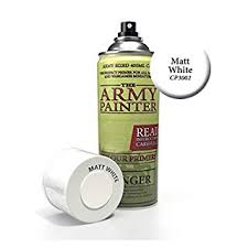 The Army Painter Color Primer Matt White 400ml 13 5oz
