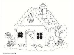 Dessin Colorier Maison Halloween Imprimer