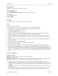 Proper Format For Resume Proper Format Of A Resume Best Of Example ...