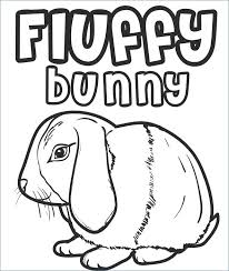 Conventional House Coloring Pictures X8698 Free Printable Bunny
