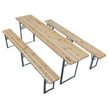 Woodside Wooden <b>Beer Table &</b> Chair Set | Woodside Products
