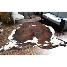 products brindle 9 cowhide rug factory accessories special savedys dys furniture mattress gland texas table floor brown 995 jpg