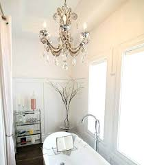 appealing bathroom chandeliers small awesome bathroom chandeliers design ideas to complete your dream bathroom lighting small