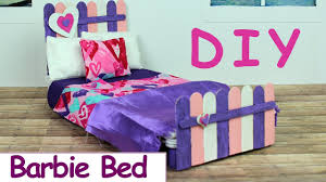 diy barbie doll furniture. fine doll diy barbie bed how to make homemade doll furniture to diy o