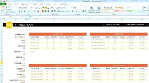 workout template excel excel body fitness excel fitness template excel body fitness