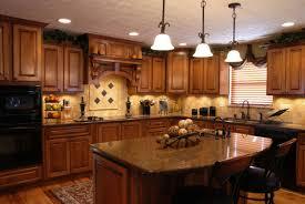 Horizontal Kitchen Wall Cabinets Wonderful Classic Kitchen With Wooden Wall Cabinets And Drawers