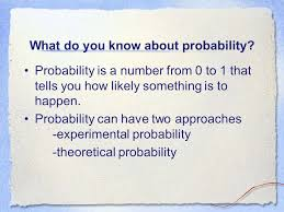 Experimental Probability Vs. Theoretical Probability - ppt video ...