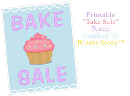 Bake Sale Flyer Templates Free Bake Sale Poster Inspired By Bakery Story Bake Sale Flyers