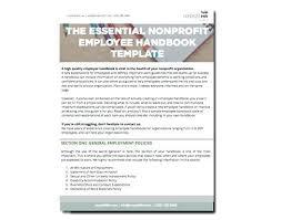 6 Inspiring Employee Handbook Examples Personnel Handbook Template