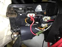 somebody hacked up my rear electrical box (vts not working) sea 94 seadoo xp starter solenoid at Sea Doo Spark Fuse Box