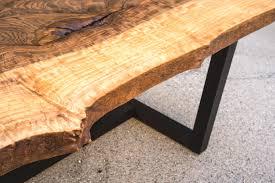 bastogne walnut coffee table