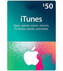 itunes gift card 50 image