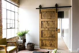 Barn Style Sliding Doors Interior Rustic For Decoration Black Ft ...