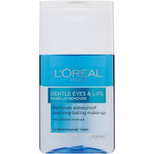 l oreal paris gentle eyes lips waterproof make up remover 125ml