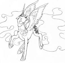 Small Picture From My Little Pony Nightmare Moon Coloring Coloring Pages