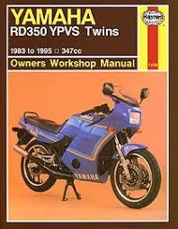 boek yamaha rd 350 ypvs twins 347 cc 1983 1995
