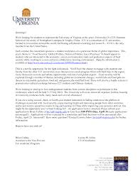 Cover Letter To University 10 Academic Cover Letters Samples 1mundoreal