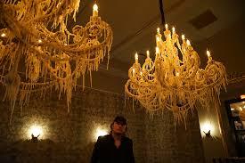 synthetic wax dd chandeliers br hand dripped polymer wax custom