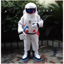 <b>Space suit Mascot</b> Cartoon <b>costume</b> astronaut performance ...