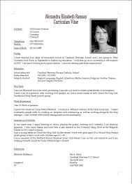 Cv Resume With Photo Gawker Investment Banker Cover Letter Ap Bio