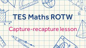 capture recapture sampling tes maths resource of the week