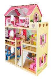 Casa delle bambole in legno mobili e accessori gratis bambole