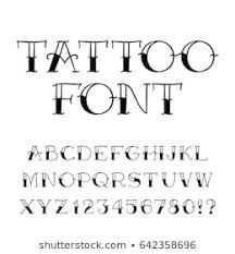 Font Styles For Tattoos Tattoo Font Images Stock Photos Vectors Shutterstock