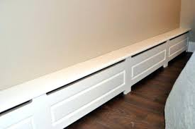 diy baseboard heater covers custom made wood baseboard heater cover installing new baseboard heater covers