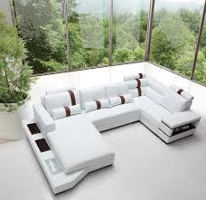 Modern sectional sofa Red Your Bookmark Products Massimo Modern White Leather Sectional Sofa La Furniture Store Massimo Modern White Leather Sectional Sofa