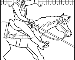 Small Picture Rodeo Coloring Pages Coloring Book of Coloring Page