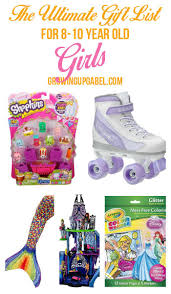 Need a gift for an 8-10 year old girl? Look no further! The Ultimate List of Top Girl Gifts Year Olds