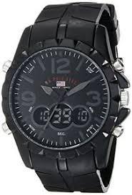 u s polo assn sport men 039 s us9058 black analog digital watch image is loading u s polo assn sport men 039 s us9058