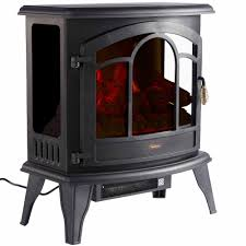 details about vonhaus 1800w curved panoramic stove heater electric fireplace led flame
