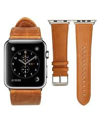 picture of jison leather apple watch band