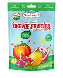 Torie & Howard Chewie Fruities Organic Candy ... - Amazon.com