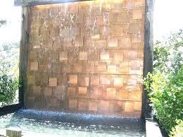 outdoor wall waterfall outdoor water wall fountains ides large outdoor wall water fountains outdoor water wall