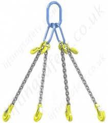 Steel Chain Strength Chart Lifting Chain Sling Assemblies Grade 8 80 Chain