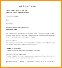 Labour Contract Template Interesting Employee Contract Temporary Job Template Worker Free Labor Agreement