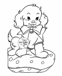 Small Picture Cat U Dog Coloring Pages Puppy Coloring Pictures Of Cute Puppies