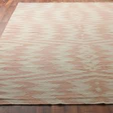 ikat stripe dhurrie rug in dusty pink and taupe pretty dusty pink gy rug
