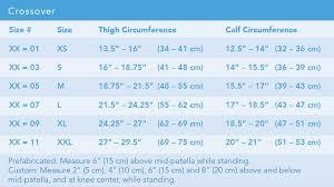 Breg Knee Brace Size Chart Crossover Knee Brace Breg Inc