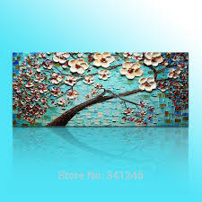 hand painted big size modern wall art decor for living room white
