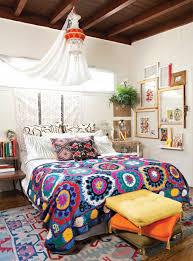 Ethnic floor cushions Bohemian Bohemian Bedroom Decor Ideas Colorful Bedding Orange Yellow Floor Cushions Ethnic Rug Notonthehighstreetcom Bohemian Bedroom Decor Ideas Colorful Bedding Orange Yellow Floor