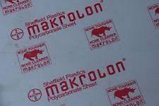 lexan sheet 1 4 polycarbonate plastic rubber sheets ebay