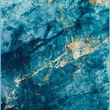 Blue And Gold Marble Iphone Wallpaper ...